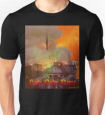 Notre Dame Fire Slim Fit T-Shirt