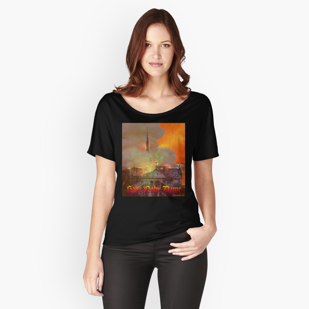 Notre Dame Fire Relaxed Fit T-Shirt