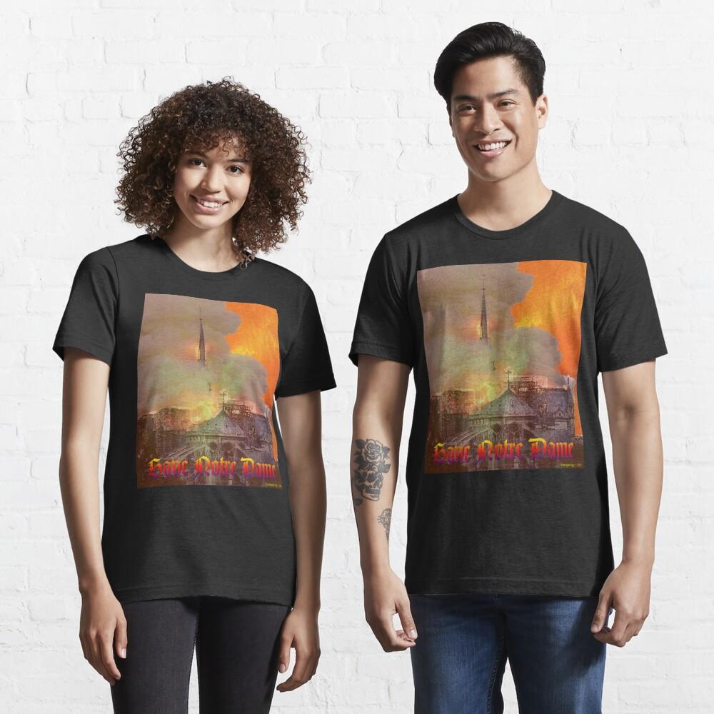 Notre Dame Fire Essential T-Shirt
