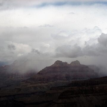 Dark Clouds over Grand Canyon by stine1