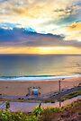 end of a sunday. Ericeira beach by terezadelpilar ~ art & architecture