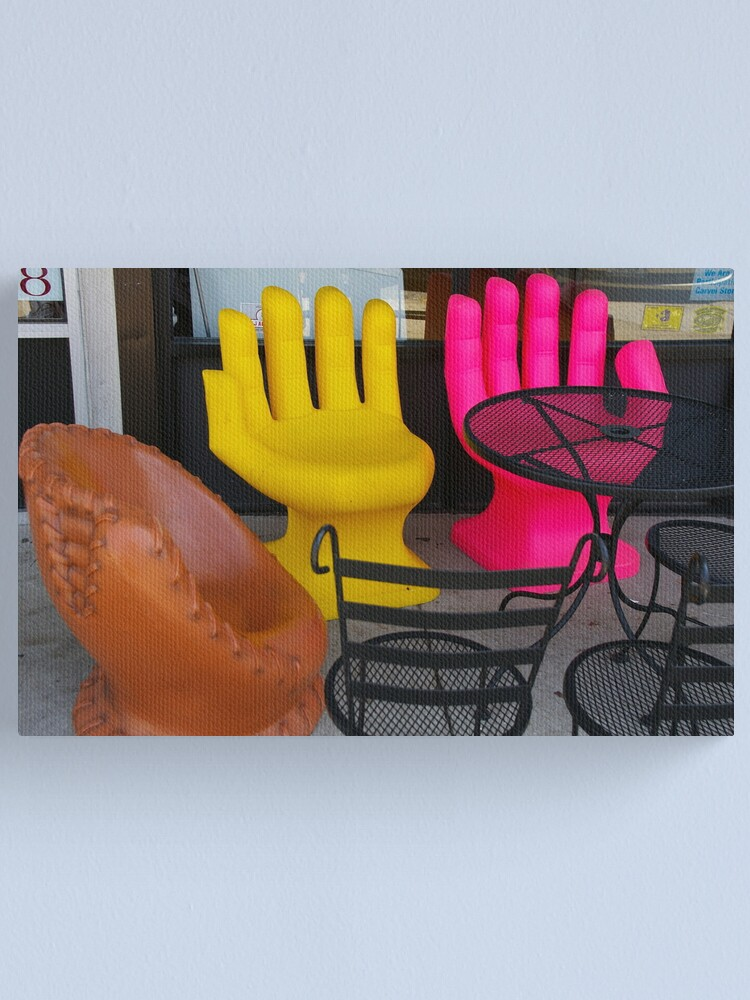 Alternate view of Gimme Five + Five Canvas Print