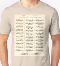 Sheet Music  Unisex T-Shirt