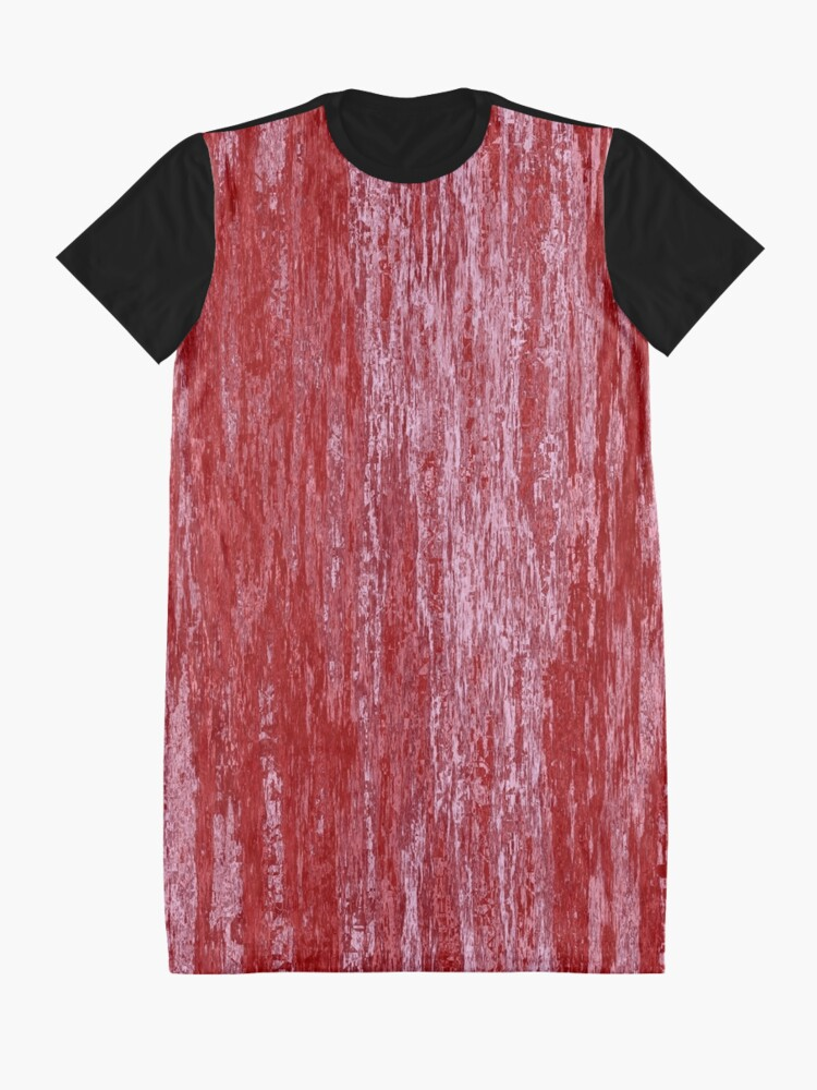Alternate view of Grungy effect Graphic T-Shirt Dress