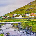 NORWAY VILLAGE by Marilyn Grimble