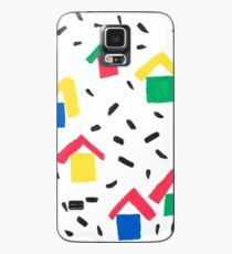 Painted Village Case/Skin for Samsung Galaxy