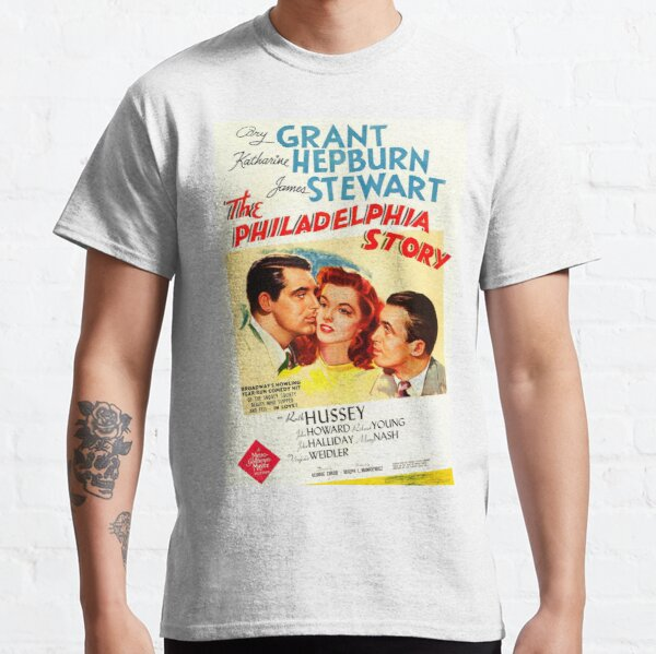 Classic Movie Poster - The Philadelphia Story Classic T-Shirt