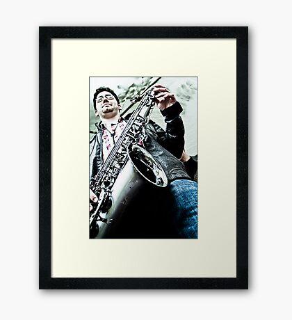 Down Under Framed Print