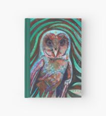 Owl Heart Hardcover Journal