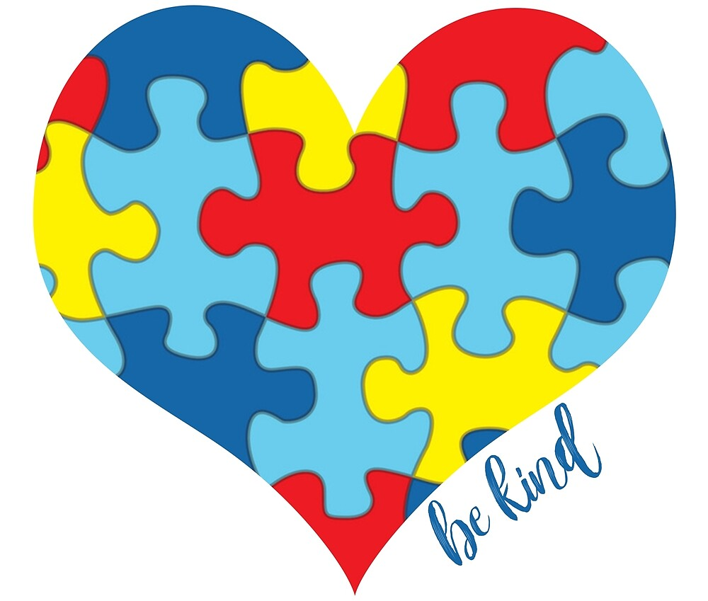 Image result for autism awareness puzzle heart