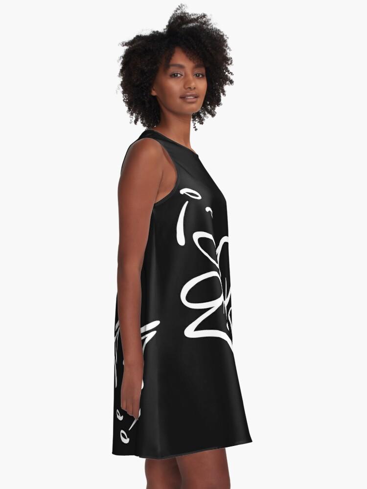 Alternate view of ¡¿Que, que?! A-Line Dress