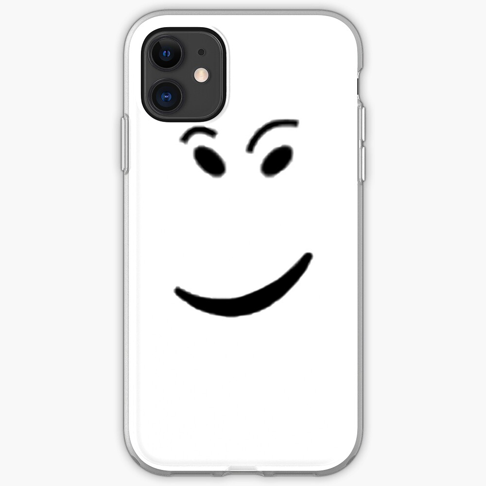 Roblox Face If Roblox Check It Face Iphone Case Cover By Ivarkorr Redbubble