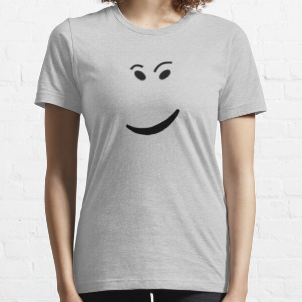 ROBLOX CHECK IT FACE Camiseta esencial