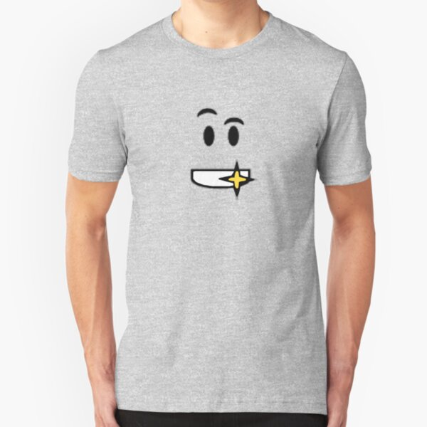 Roblox Smile Face T Shirt By Ivarkorr Redbubble