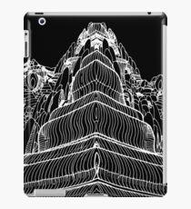 FRACTAL MOUNTAIN BAMBOO TATTOO FLASH iPad Case/Skin