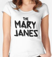 The Mary Janes shirt – Spider-Gwen, Gwen Stacy Women's Fitted Scoop T-Shirt
