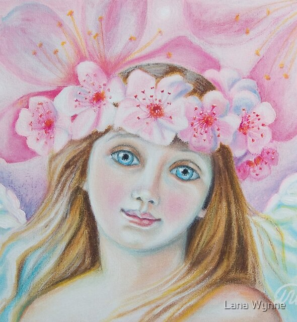 Cherry Blossom Angel  by Lana Wynne