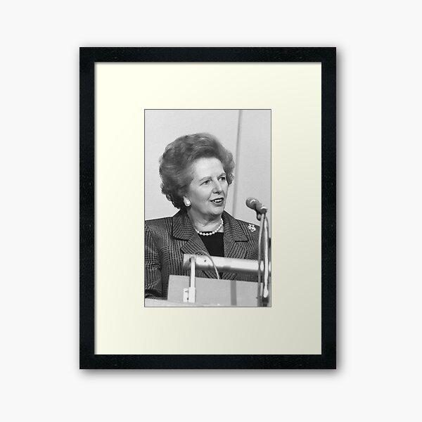 Margaret Thatcher Framed Art Print