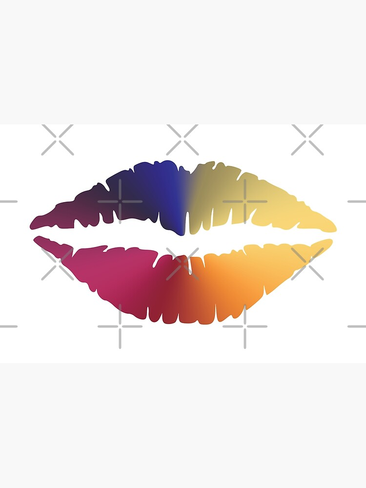 Lips Angle Gradient (Clear/White) by jrbactor
