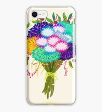 BOUQUET FLOWERS iPhone Case/Skin