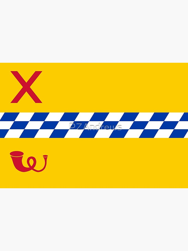 Flag of Woerden, Netherlands by PZAndrews