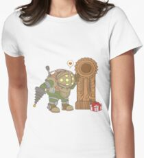 Big Daddy Calling Womens Fitted T-Shirt