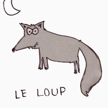 Le loup by 123picaparet