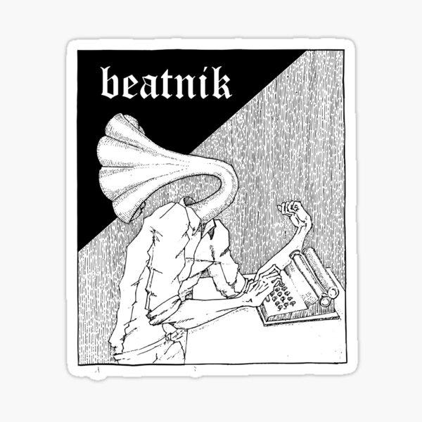 The Beatnik Sticker