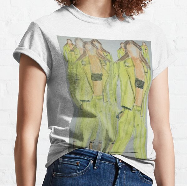 FASHIONISTA NOW FASHION ILLUSTRATION Classic T-Shirt