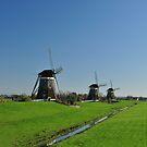 Dutch Windmills by Hans Kool