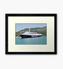 Express Pegasus ferry, Skopelos Framed Print