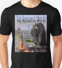 The Gargoyle Did It Slim Fit T-Shirt