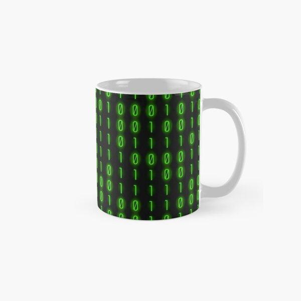 Binary Code Inside Classic Mug
