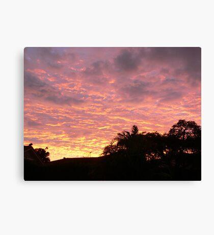 Brisbane sunrise Canvas Print