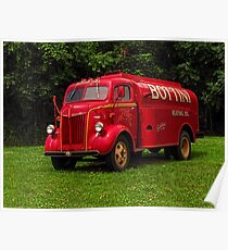 1951 Ford Oil Truck Poster