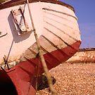 lonely boat  by Jo Ross