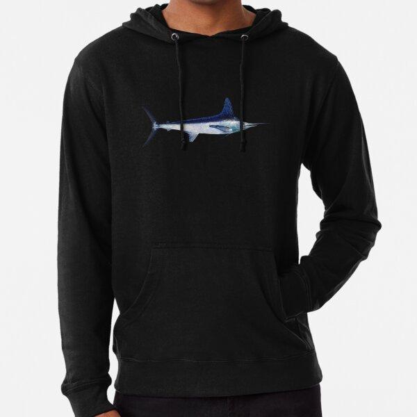 White Marlin Lightweight Hoodie