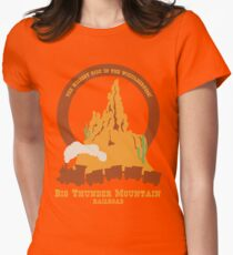 Big Thunder Mountain Railroad Women's Fitted T-Shirt