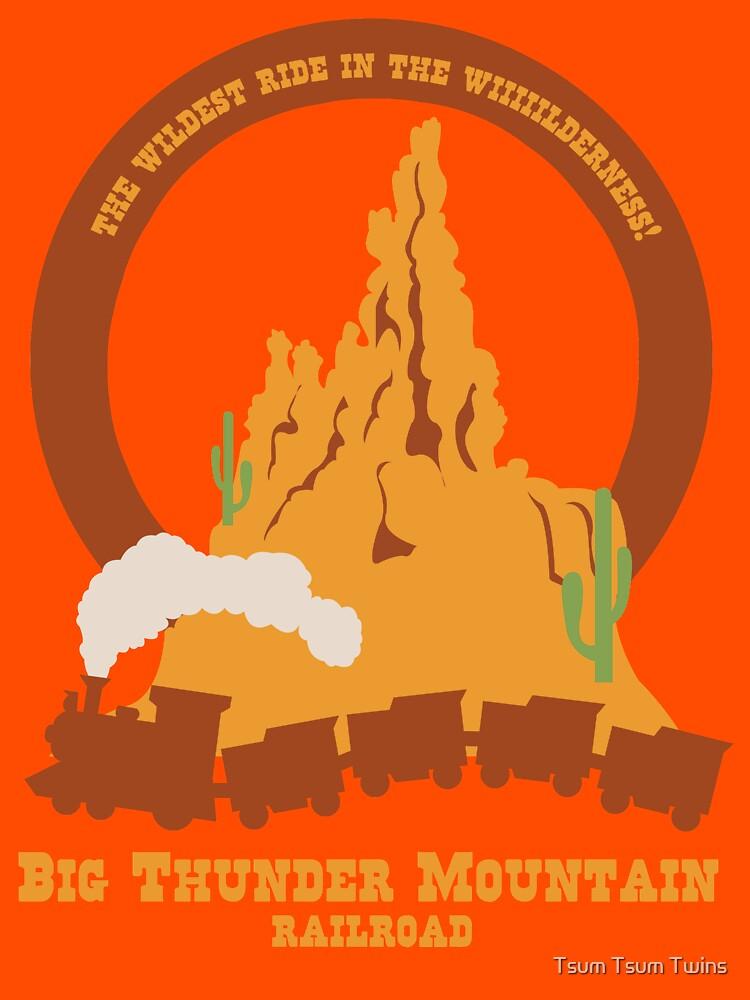 Big Thunder Mountain Railroad | Unisex T-Shirt