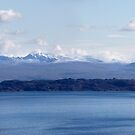 Rona and Raasay from Skye, Scottish Highlands by Jonathan Maddock