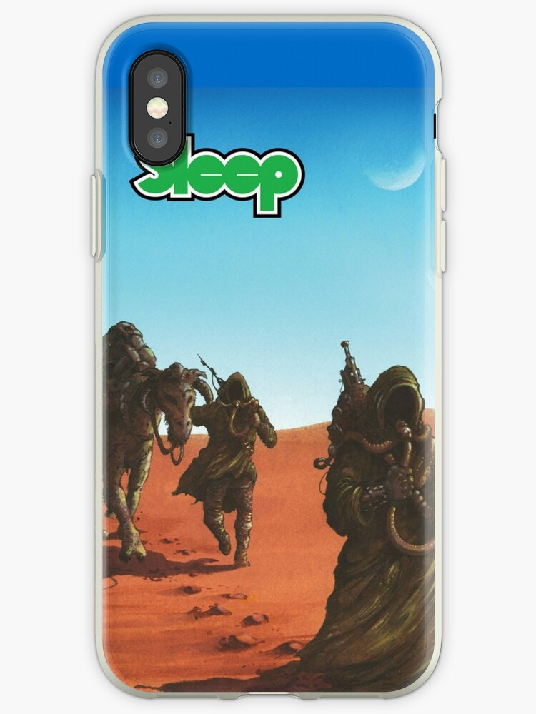 'Sleep - Dopesmoker' iPhone Case by TheSmartChicken