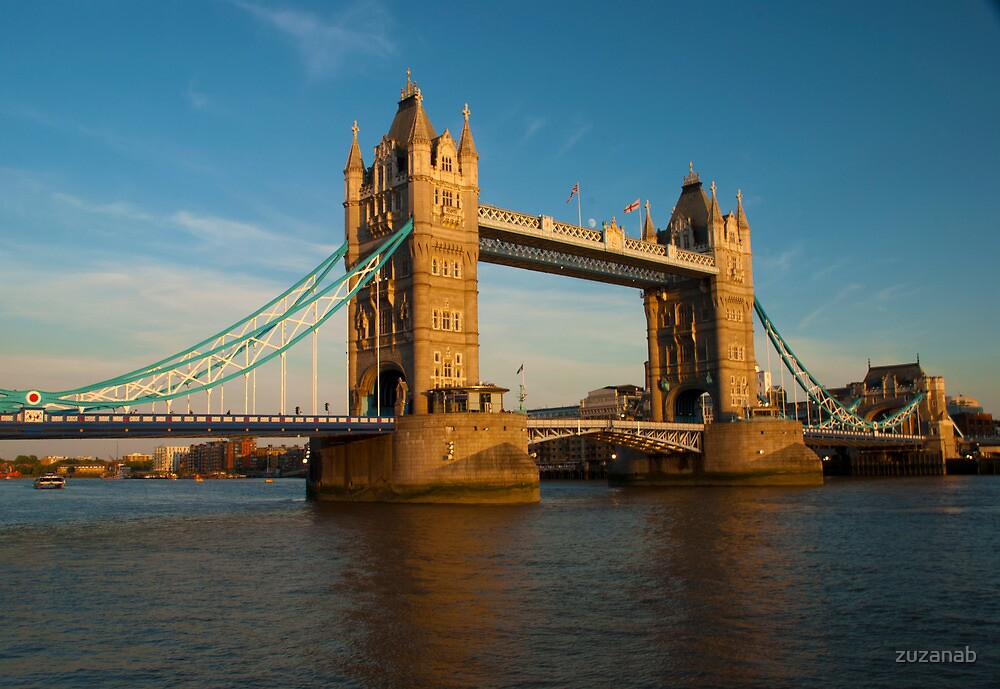 Tower Bridge, London by zuzanab