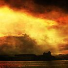 Das Schloss bei Sonnenuntergang von Ken Simm