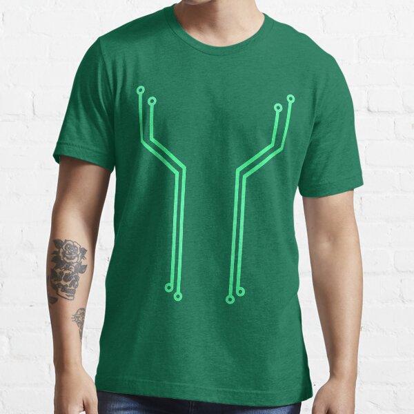 Blue Circuitry Essential T-Shirt