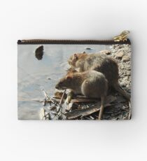 Ratty and Ratty Zipper Pouch
