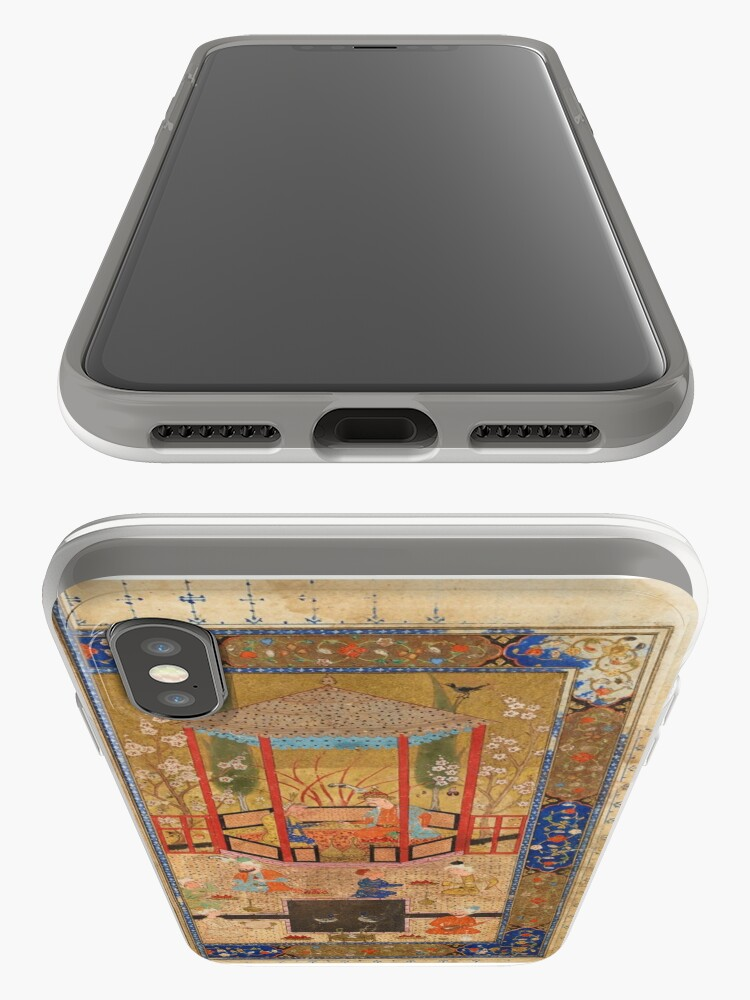 Alternate view of Persian Poetry Ancient Book Phone Case iPhone Case & Cover