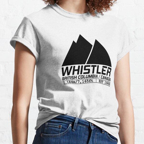 Ski Whistler British Columbia Canada Skiing and Snowboarding Classic T-Shirt