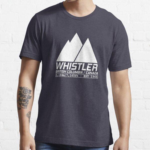 Ski Whistler British Columbia Canada Skiing and Snowboarding Essential T-Shirt