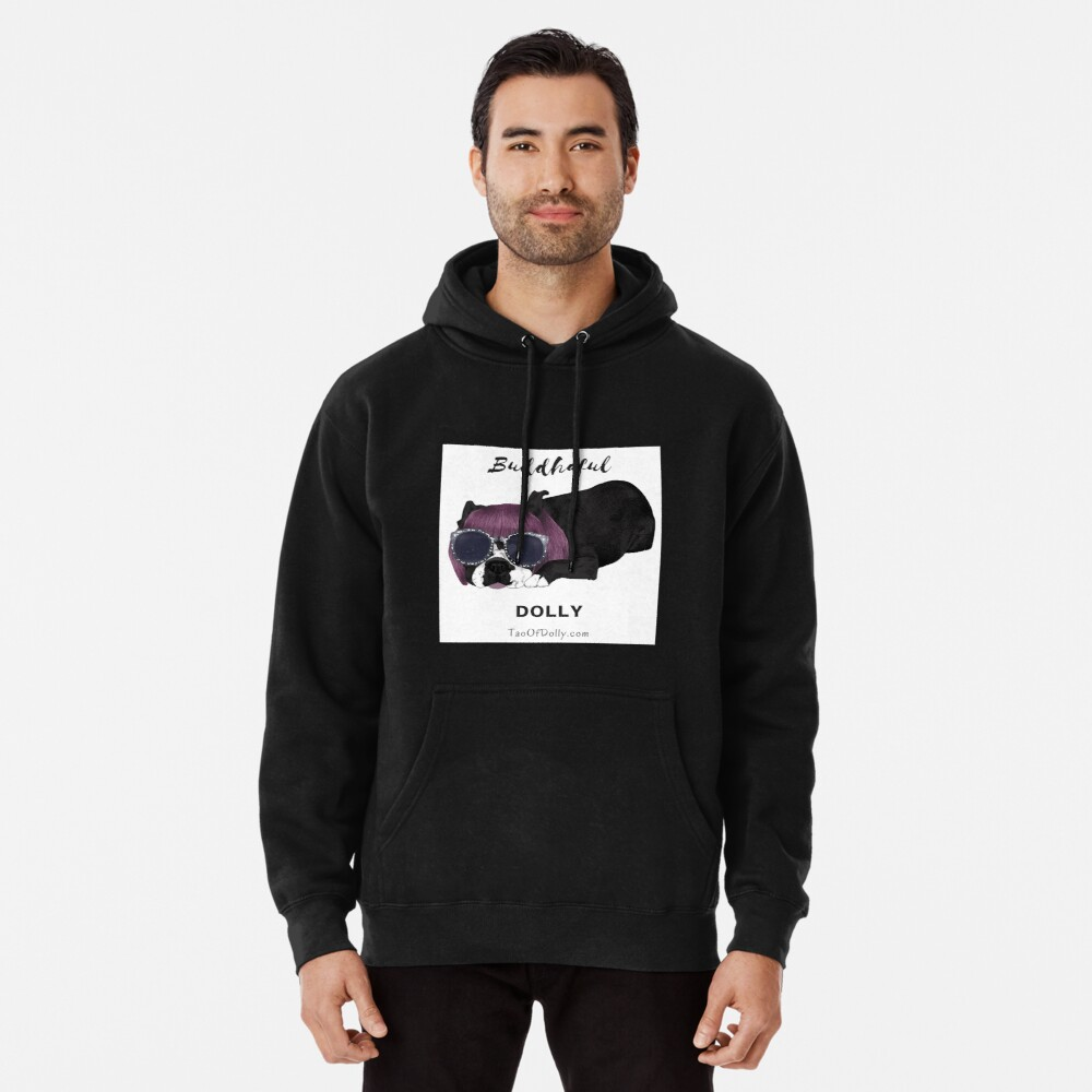 Buddhaful Dolly  Pullover Hoodie