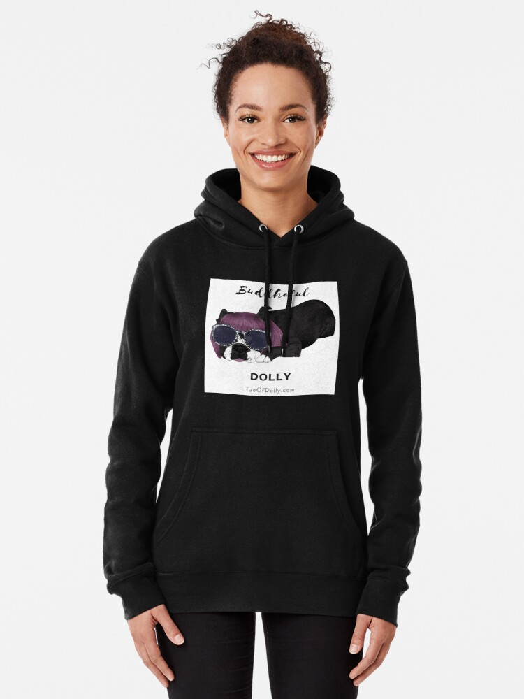 Alternate view of Buddhaful Dolly  Pullover Hoodie